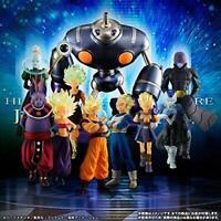 BANDAI DRAGON BALL Z Super HG Premium The Sixth Universe Rivals All 10 Set EMS