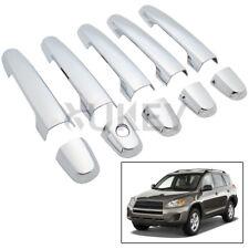 10pcs For Toyota RAV4 2006-2012 Chrome Door Handle Cover Trim Molding RAV 4 Cap