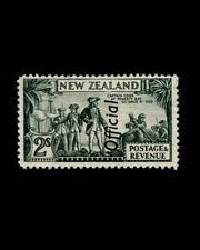 VINTAGE: NEW ZEALAND 1942 OG LH FRESH SCOTT # O71A $ 90 LOT # VSANZEA1942DD-K