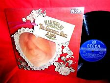 MANTOVANI and his ORCHESTRA The greatest gift is love LP 1975 UK MINT-