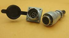 set PLS 20mm Circular 8Pin/9pin/12pin Aviation Plug 250 Volts Rated Plug Socket