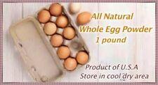 Powdered Eggs 1.LBS(16 OZ)*Temper Proof 7mil Mylar Bag*MRE*Emergency Food*