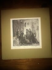 """Maggie Block """"magic City"""" 1967 Etching Signed"""