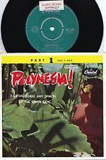 Royal Polynesians ORIG OZ Promo EP EX '57 Charles Mauu Island Exotica Cheesecake