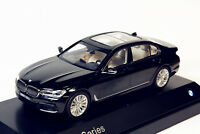 1/43 Dealer Edition BMW New 7 Series 750Li Black DIECAST MODEL