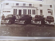 1940 STUDEBAKER  NEW CAR LINE UP 11 X 17  PHOTO /  PICTURE