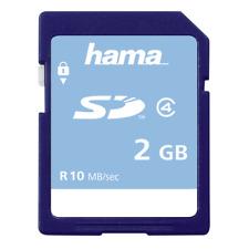 Hama SD Secure Digital 2Gb Class 4 Memory Card  #055377 (UK Stock) BNIP