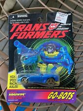 G2 Go-Bots Sideswipe 1994 Transformers Gobots Go-Bot Hasbro-Sealed On Card