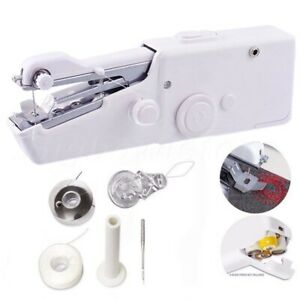 Portable Mini Handheld Sewing Machine Kit CS-101B Household Dressmaking Tool