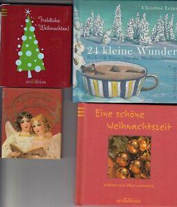 4 kleine Weihnachtsbücher