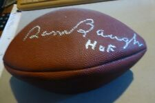 Sammy Baugh SIGNED Wilson NFL Football HOF/quarterback/Washington Redskins/auto