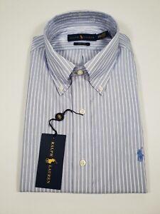 New Authentic Polo Ralph Lauren Men Classic Fit Easy Care Dress Shirt SALE