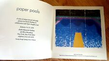 David Hockney - PAPER POOLS **PROMO** PRINT FROM TYLER GRAPHICS