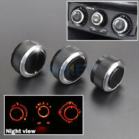 FIT FOR VW POLO 03-13 SWITCH KNOB HEATER CLIMATE CONTROL BUTTONS DIALS FRAME A/C