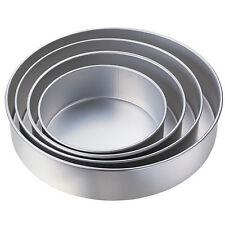 Wilton Round Shaped Cake Pan 4 Tin Set, Fondant, Icing, Decorating, Wedding