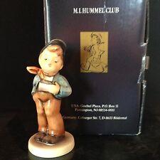 "GOEBEL M.I. HUMMEL Club #560 ""LUCKY FELLOW""  with original BOX TMK 7"