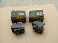 1965-67 Cadillac front motor mounts, pair, NOS!