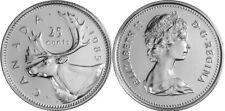 Canada 1985 25 Cents Choice BU UNC MS-63 Quarter!!