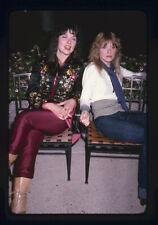 Heart Ann & Nancy Wilson Rock legends rare candid Vintage original Transparency