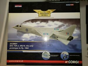 """CORGI 1:72 BAC TSR 2, XR219 AA38601 """"THE ONLY PROTOTYPE TO FLY"""" 1964 LIMITED ED"""