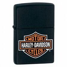 Classic Harley-Davidson Logo Black Zippo Lighter