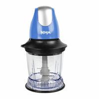 Ninja QB700 Food Processor Chopper Blue (Certified Refurbished)