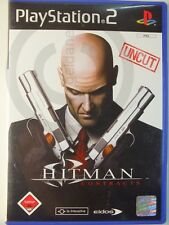 PlayStation PS2 GAME HITMAN CONTRACTS, usk18, USED BUT GOOD