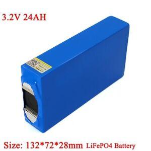 3.2V Battery Pack LiFePO4 Phosphate Large Capacity 24000mAh Motorcycle Battery