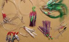 7 pack mackerel feathers - mackerel/bass/pollock/cod/boat fishing