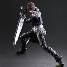 Play Arts Kai PA Final Fantasy VIII FF8 Squall Leonhart Figure Statue Model Toy