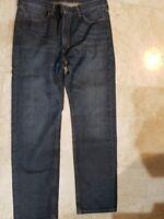 LEVI'S JEANS MEN'S 505 STRAIGHT LEG REGULAR FIT DENIM DARK BLUE JEANS 38X34 NWT