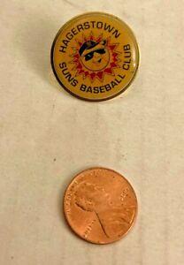 Vintage Hagerstown Suns Logo Pin Metal Super Rare
