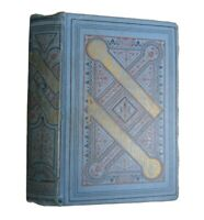 Poetical Works of Lord Byron Antique 1894 Classic Victorian Blue Childe Harold