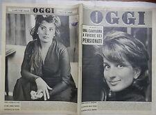 OGGI 2 febbraio 1961 Mina Gronchi Kennedy Catania calcio Sofia Loren MacLaine di