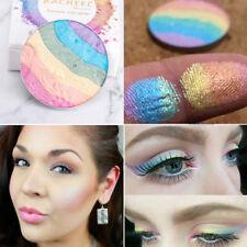 Eye Shadow Powder Shimmer Beauty Eyeshadow Palette Rainbow Blusher Makeup Kit