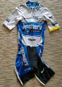 LANCE ARMSTRONG - 2005 Discovery Channel Pro Cycling Team Skinsuit NIKE Size L