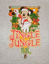 Run Disney - Size Youth Medium (Ym) Mickey's Jingle Jungle 5k Race T-Shirt *Read