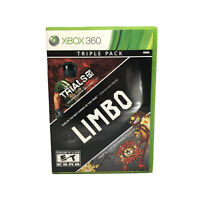 Xbox 360 - Triple Pack, Limbo, Trials HD, Splosion Man - USED, Free Shipping -