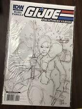 G.I. Joe: A Real American Hero #158 (2010) 1:10 Hama Sketch Variant IDW