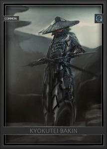 Arata Digital Kyokutei Bakin Ronin Samurai - Digital NFT Card - Mint #560 RARE