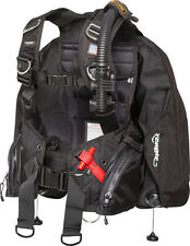 Zeagle Ranger Scuba BCD with Ripcord Weight System, Black, Medium
