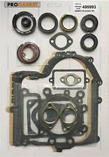 Complete Gasket Set For Briggs & Stratton 495993 for 28N 287000 eng. Oil Seals