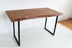 Custom Traditional Epoxy Wooden Handmade Dining Custom Table Top Home Décor Arts