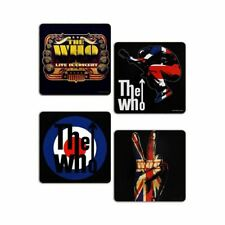 The Who MOD Target Drinking Coasters 4 Set - Boxed Music Lovers Gift