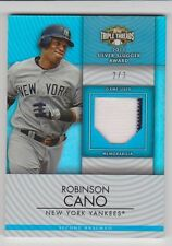 ROBINSON CANO 2012 Triple Threads Unity Jersey Relic #D/3 New York Yankees RARE