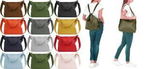 Handbag Bliss Lg- Xlg Italian Leather Shoulder Bag Converts to Rucksack Backpack