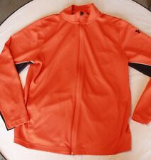 MAN'S LONG SLEEVE ZIP FRONT UNDER ARMOUR SHIRT LARGE