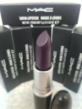 MAC SATIN LIPSTICK ROUGE A LEVRES in CYBER Full Sz 3g/0.1OZ NEW in BOX