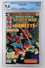 Marvel Team-Up #92 - CGC 9.6 NM+ Marvel 1980 - Spider-Man & Hawkeye!