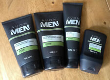 Avon Men Active Bundle Face Wash x2, Sensitive Shave Gel & Aftershave Balm BN